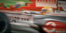 This is a digital illustration of Lewis Hamilton's Mclaren vs. Felipe Massa's Ferrari from the 2008 season that Hamilton won. I am selling a limited amount of prints of this...