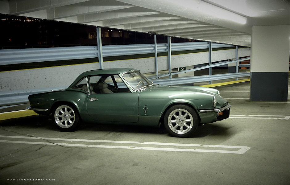 Triumph Spitfire. Now with hardtop!