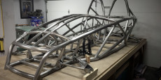 Progress on the car continues! Slowly, as other projects like a kitchen reno and a bicycle tour of Europe have taken priority.     The frame has been for...